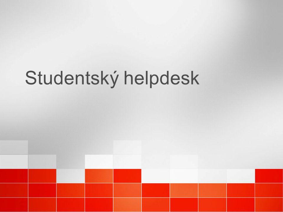Studentský helpdesk
