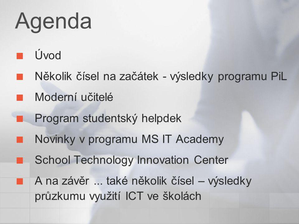 School technology innovation center Centrum moderních technologií ve škole Umístěno na Střední průmyslové škole v Praze Na Třebešíně jedna z největších středních škol v ČR první česká MS IT Academy orientována na strojírenství a informační technologie IT/ITC je používáno široce ve výuce