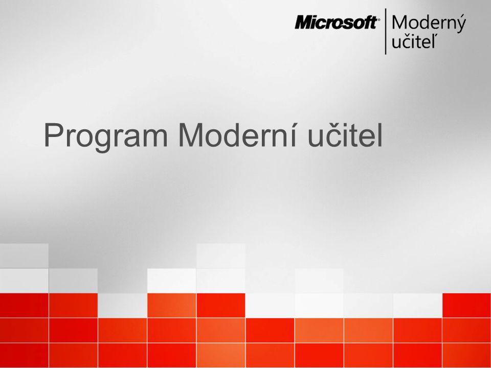 Program Moderní učitel