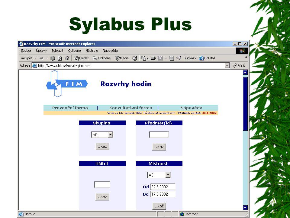 Sylabus Plus