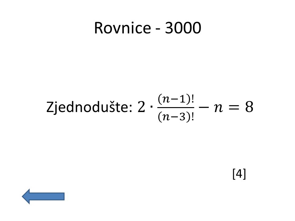 Rovnice - 3000 [4]