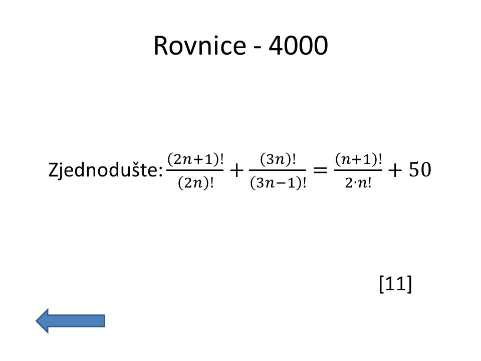 Rovnice - 4000 [11]