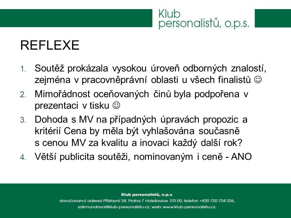 REFLEXE 1.