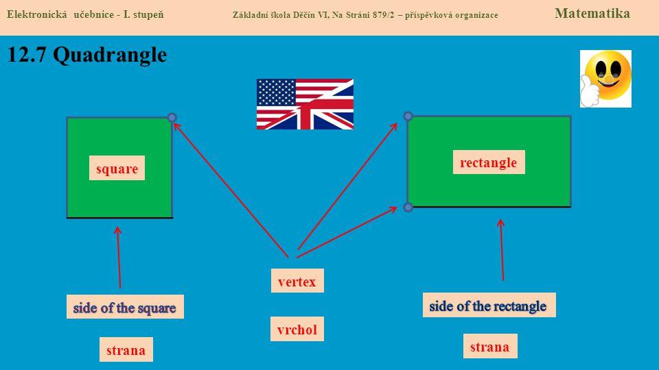 12.7 Quadrangle Elektronická učebnice - I.