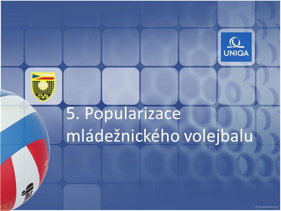 5. Popularizace mládežnického volejbalu