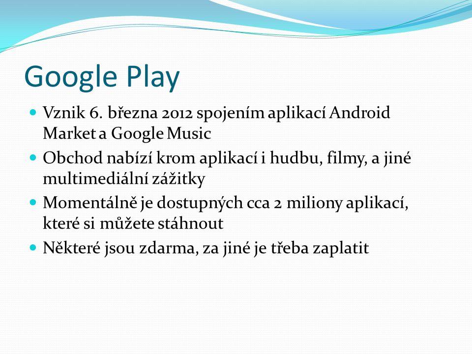 Google Play Vznik 6.