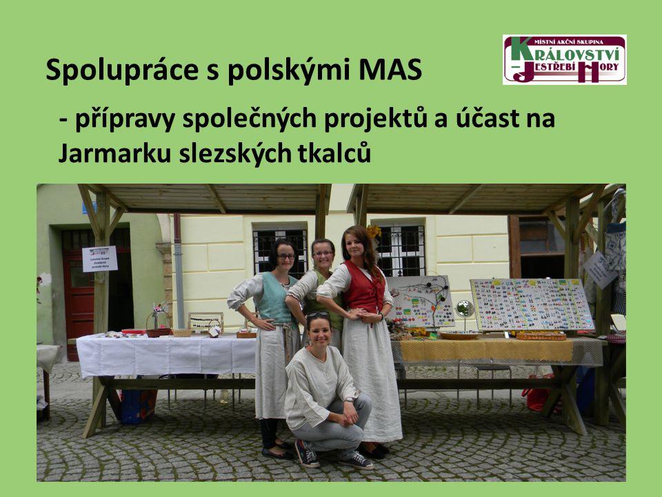 Spolupráce s polskými MAS - přípravy společných projektů a účast na Jarmarku slezských tkalců