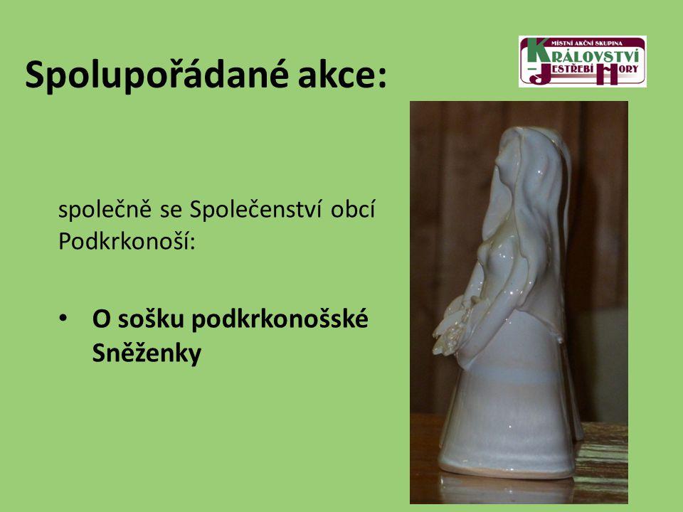 Spolupořádané akce: společně se Společenství obcí Podkrkonoší: O sošku podkrkonošské Sněženky