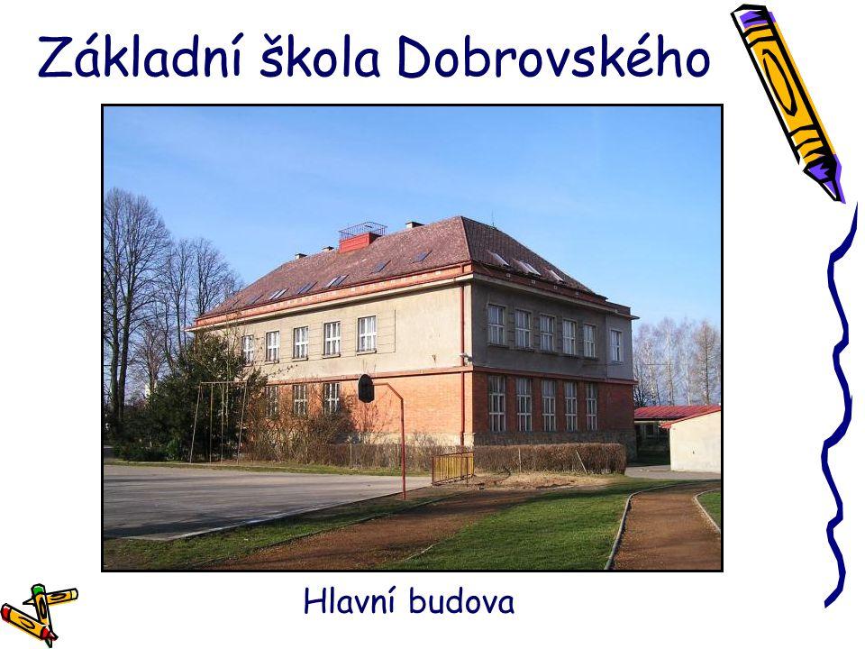 Základní škola Dobrovského Hlavní budova
