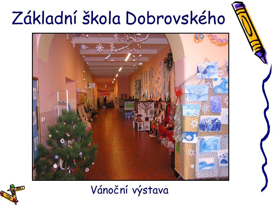 Základní škola Dobrovského Vánoční výstava