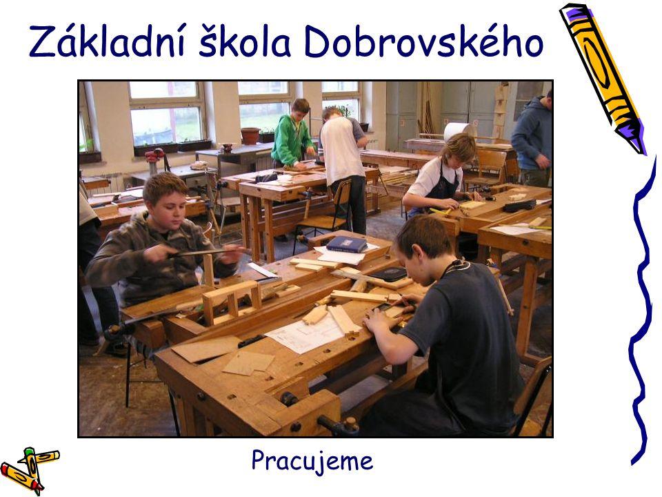 Základní škola Dobrovského Pracujeme
