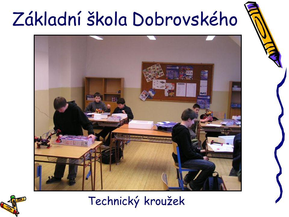 Základní škola Dobrovského Technický kroužek