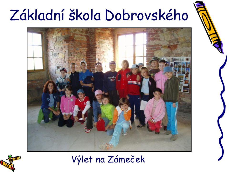 Základní škola Dobrovského Výlet na Zámeček