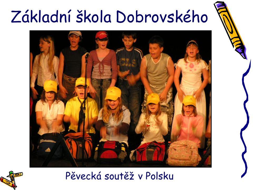 Základní škola Dobrovského Pěvecká soutěž v Polsku