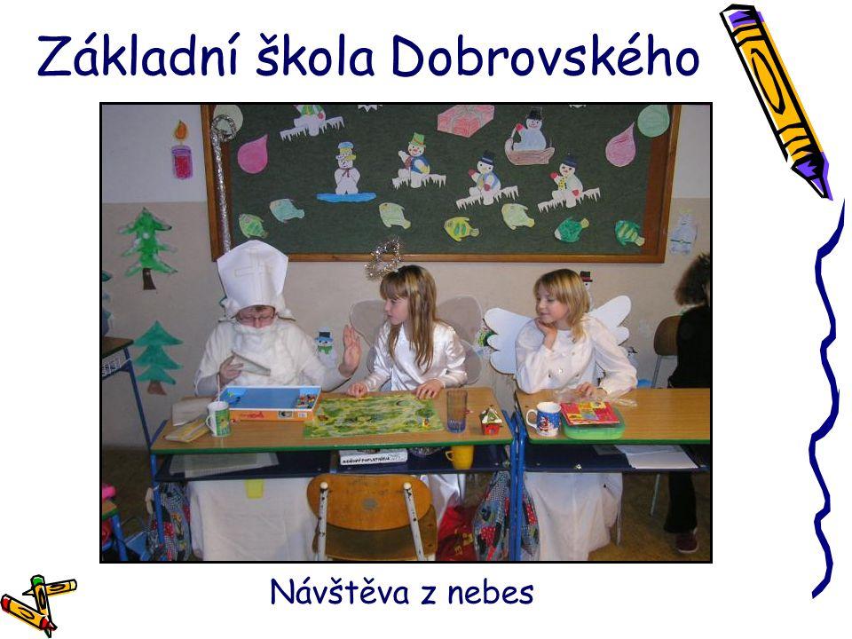 Základní škola Dobrovského Návštěva z nebes