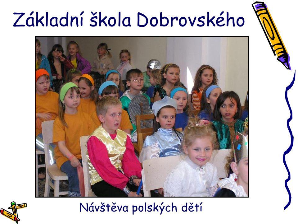 Základní škola Dobrovského Návštěva polských dětí
