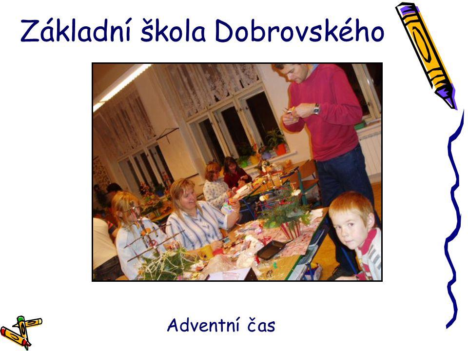 Základní škola Dobrovského Adventní čas