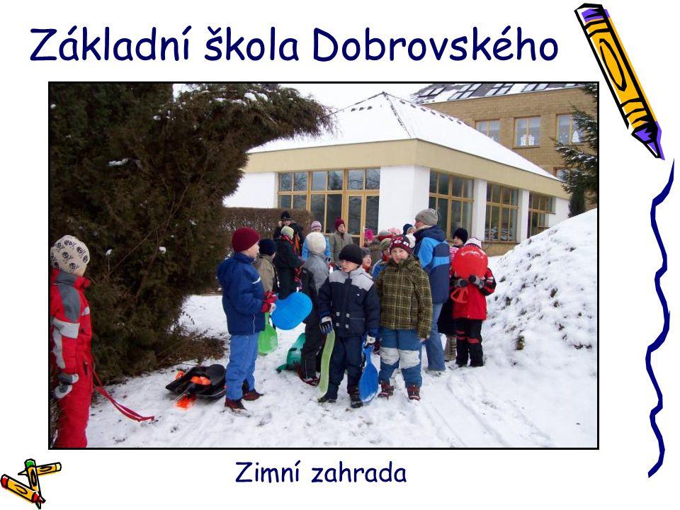 Základní škola Dobrovského Zimní zahrada