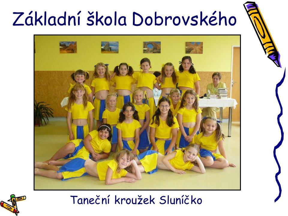 Základní škola Dobrovského Taneční kroužek Sluníčko