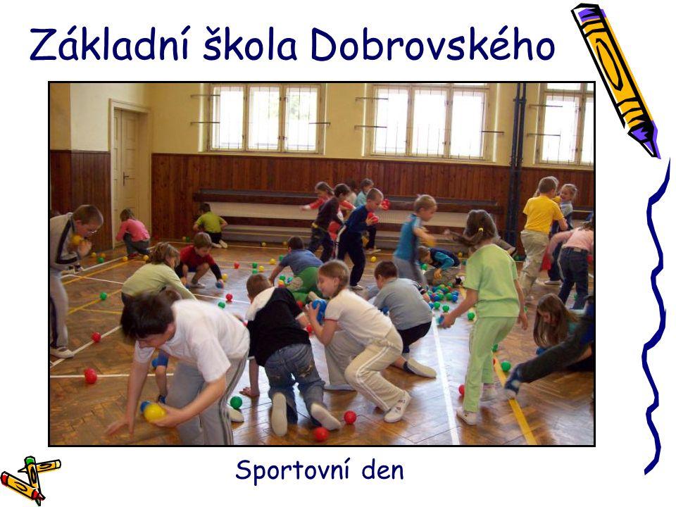 Základní škola Dobrovského Sportovní den