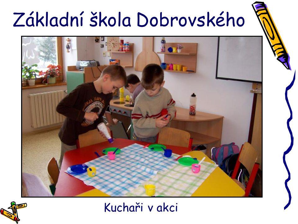 Základní škola Dobrovského Kuchaři v akci