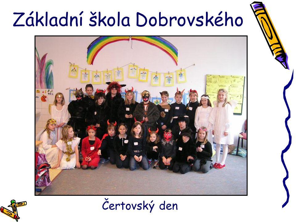 Základní škola Dobrovského Čertovský den