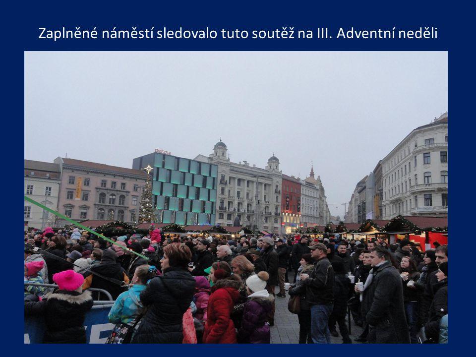 Na dětské talentové soutěži Brněnský šikula s rádiem Čas vystoupil také jeden z tanečních souborů, Bellynka z Oslavan