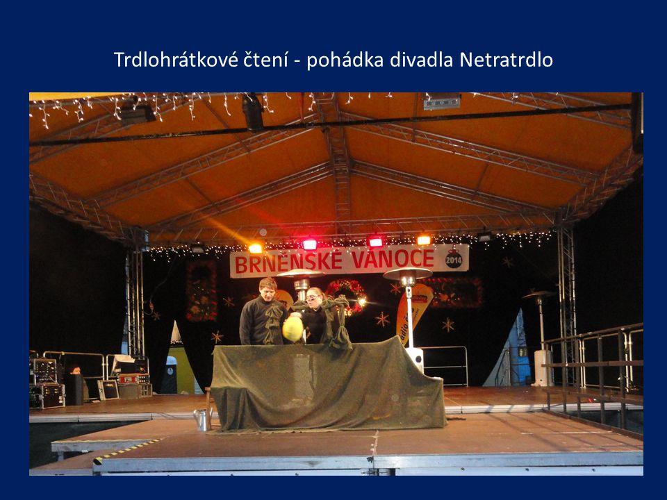 Trdlohrátkové čtení - pohádka divadla Netratrdlo