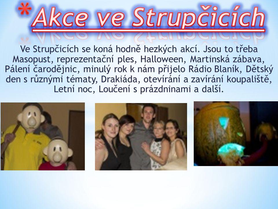 *K*K e Strupčicím patří 3 osady Hošnice, Sušany a Okořín. Sušany Okořín Hošnice