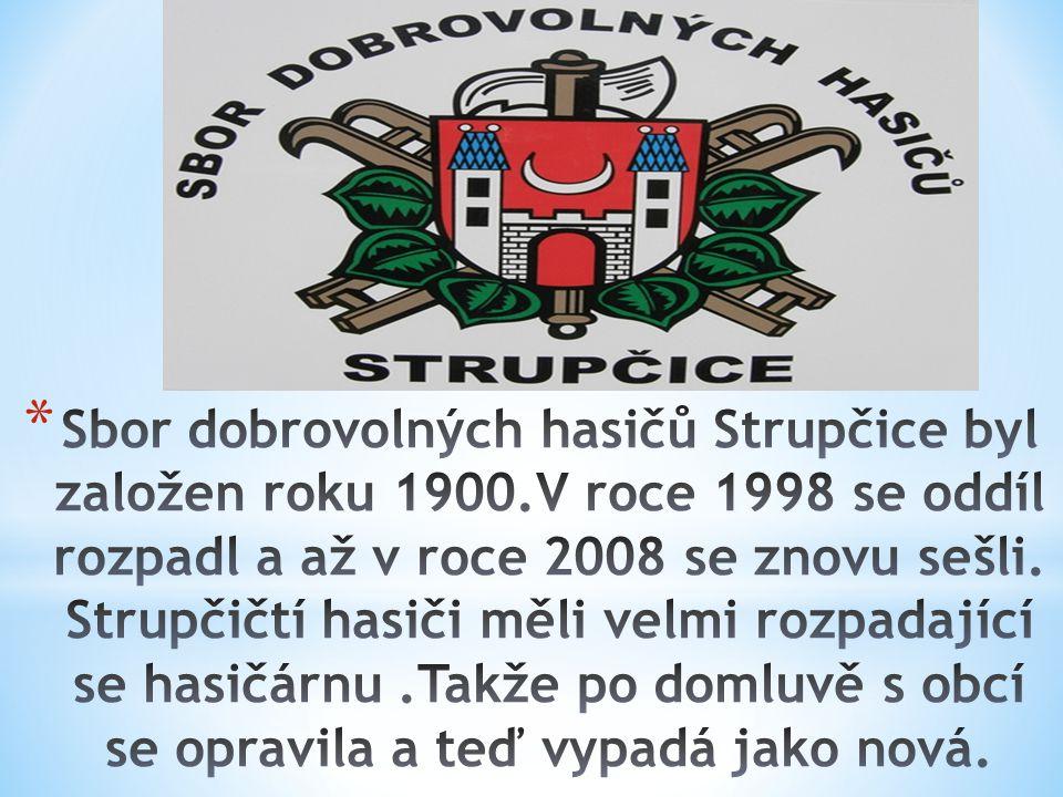Náš fotbalový klub byl založen roku 1931. Klub založili dva fotbalisté Julius Braun a Antonín Hudík. Nejdříve se jmenoval Sparta Strupčice, potom Baní