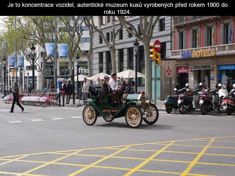 Od roku 1959 se koná tato automobilová soutěž, která probíhá mezi Barcelonou a Sitges.