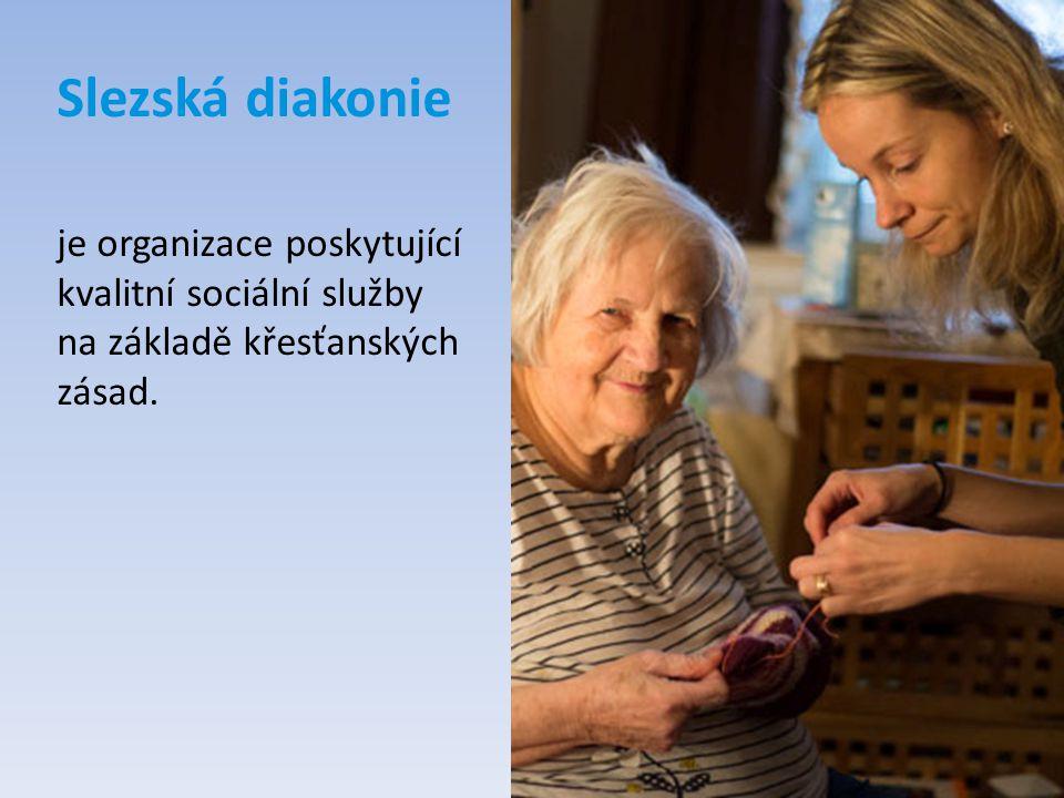 Slezská diakonie je organizace poskytující kvalitní sociální služby na základě křesťanských zásad.