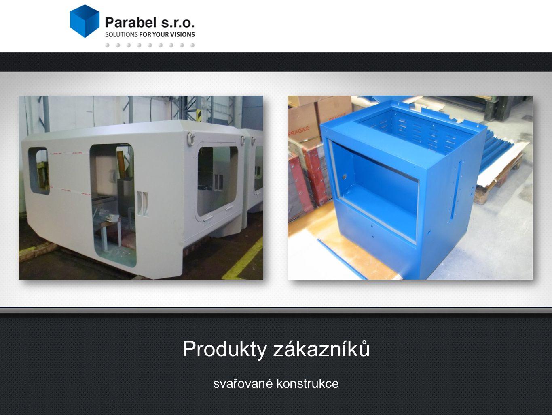 Produkty zákazníků svařované konstrukce