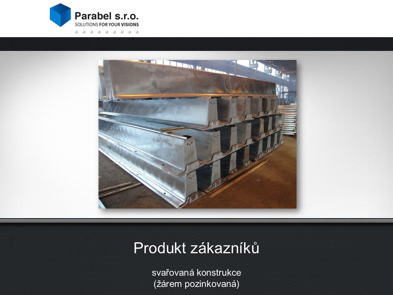 Produkt zákazníků svařovaná konstrukce (žárem pozinkovaná)