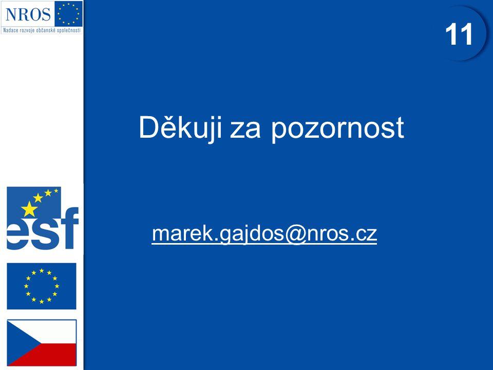 11 Děkuji za pozornost marek.gajdos@nros.cz