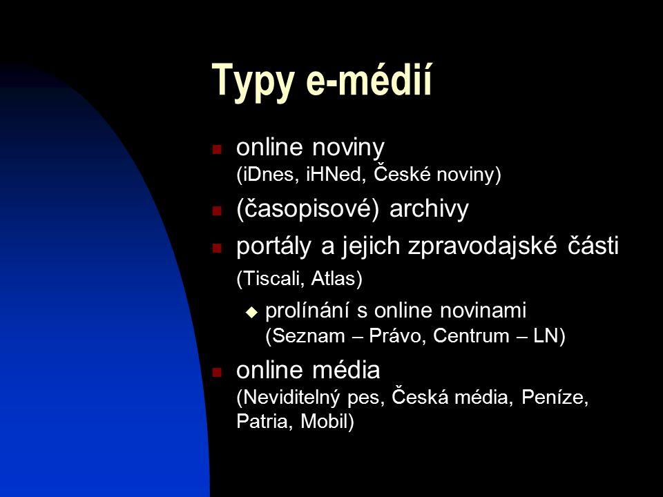 Online noviny noví čtenáři (Blesk, České noviny) služba stávajícím rozložení nákladů na tvorbu obsahu marketing reklamní balíčky prodejní kanál