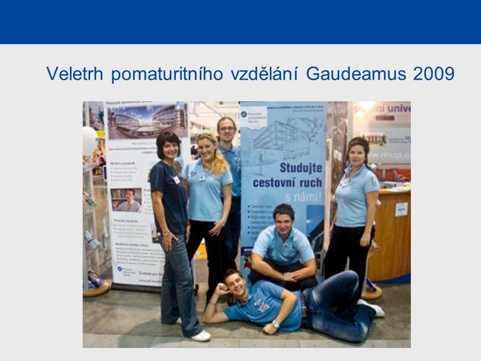 Veletrh pomaturitního vzdělání Gaudeamus 2009