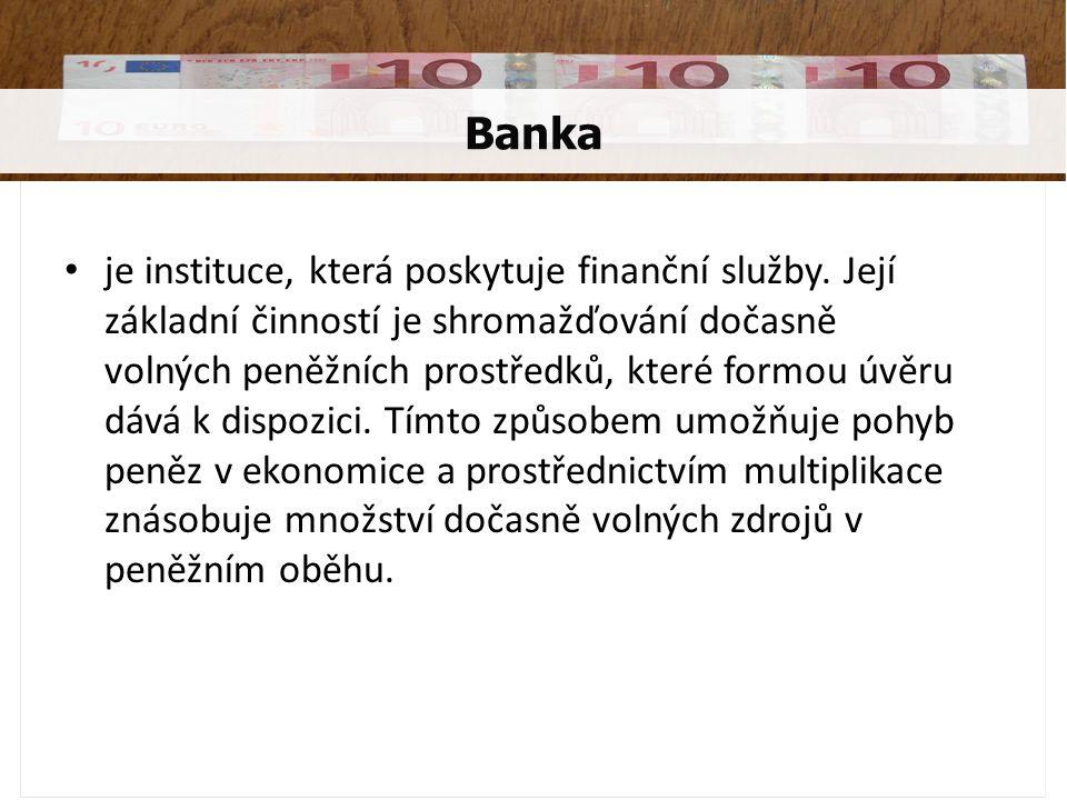 zprostředkování bezhotovostního platebního styku úschova cenných předmětů směnárenská činnost vydávání cenných papírů burzovní obchody poradenské a zprostředkovatelské služby Další funkce bank