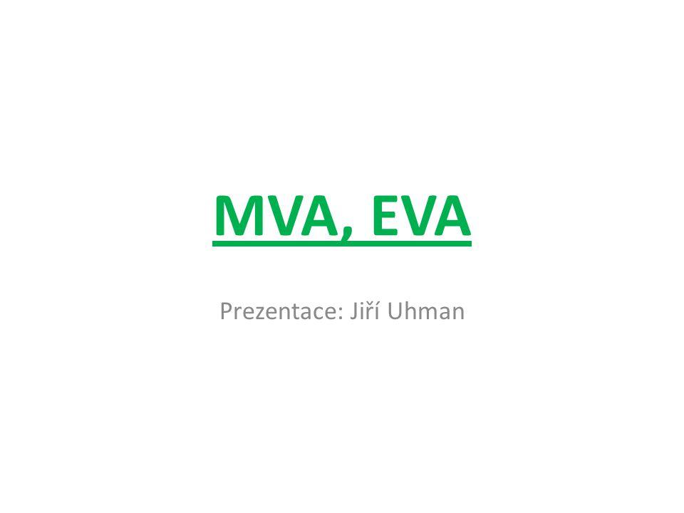 MVA, EVA Prezentace: Jiří Uhman