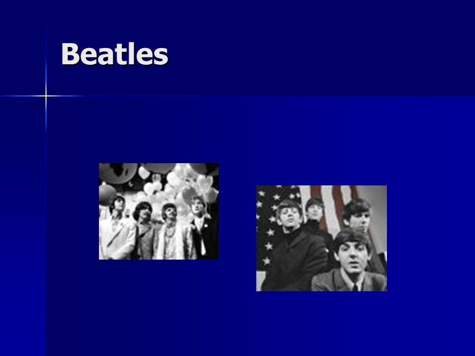 Rolling Stones vycházejí z černošského R&B vycházejí z černošského R&B vznikli 1963 v západním Londýně vznikli 1963 v západním Londýně název skupiny se zrodil z písničky bluesového zpěváka Muddy Waterse Bludné kameny název skupiny se zrodil z písničky bluesového zpěváka Muddy Waterse Bludné kameny stali se protipólem Beatles, vycházejících spíše z R&R stali se protipólem Beatles, vycházejících spíše z R&R nesnažili se napodobovat americký přízvuk.