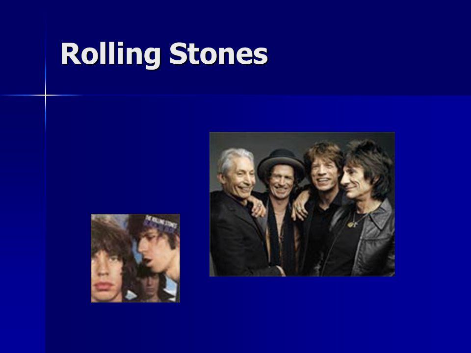 Jimi Hendrix (1942-1970) * v Seattlu,vliv černošských bluesmanů * v Seattlu,vliv černošských bluesmanů zpočátku hrál jako doprovodný kytarista zpočátku hrál jako doprovodný kytarista 1966 odjel do Anglie a sestavil skupinu Experience 1966 odjel do Anglie a sestavil skupinu Experience uměl mistrně využívat kytarových efektů uměl mistrně využívat kytarových efektů zpíval uvolněným způsobem s bluesovým nadhledem zpíval uvolněným způsobem s bluesovým nadhledem hrál pouze tři roky, neboť zemřel na předávkování barbituráty hrál pouze tři roky, neboť zemřel na předávkování barbituráty Nejlepší alba: Are You Experienced.