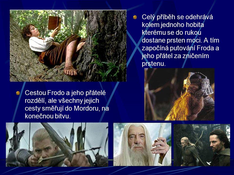 Cestou Frodo a jeho přátelé rozdělí, ale všechny jejich cesty směřují do Mordoru, na konečnou bitvu.