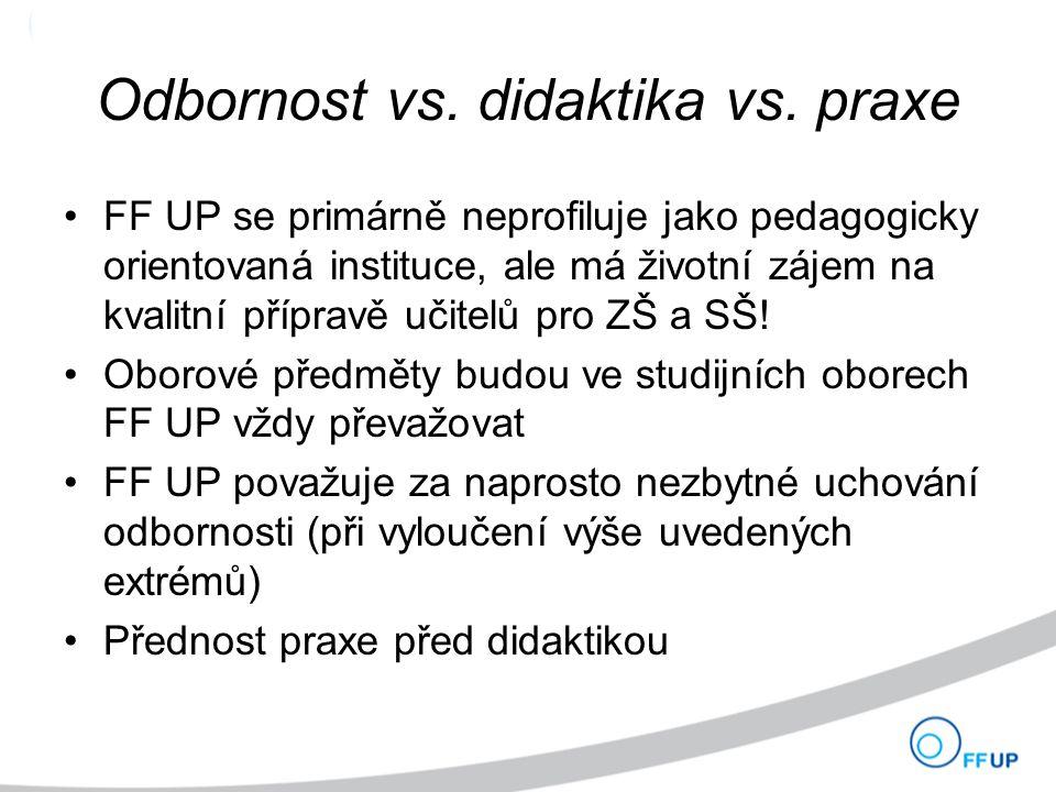 Odbornost vs. didaktika vs.