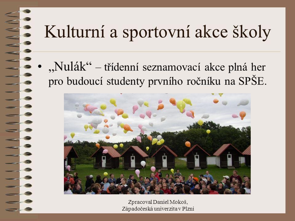Zpracoval Daniel Mokoš, Západočeská univerzita v Plzni Srovnání s ostatními školami Za školní rok 2005/2006 obdržela škola 2.