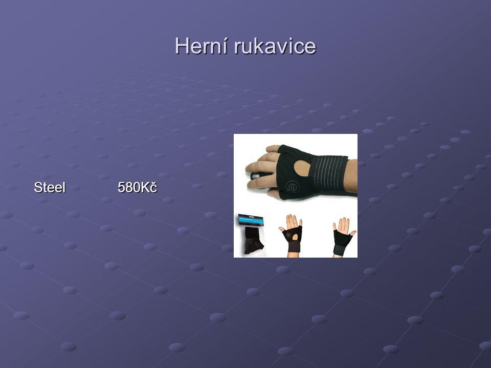 Herní rukavice Steel 580Kč