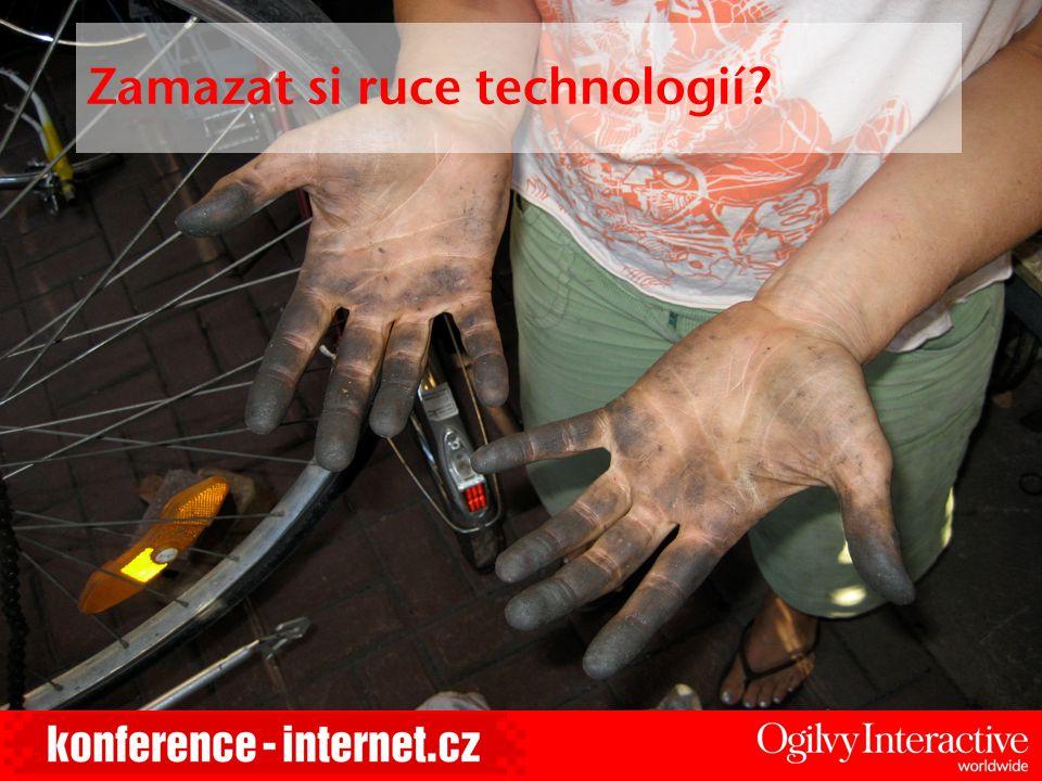 Zamazat si ruce technologií