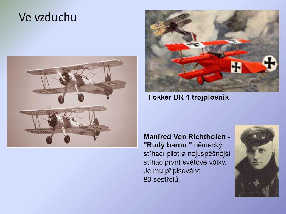 Ve vzduchu Manfred Von Richthofen -