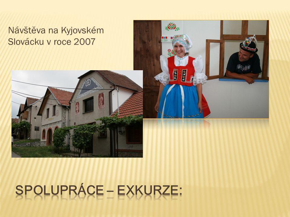Návštěva na Kyjovském Slovácku v roce 2007