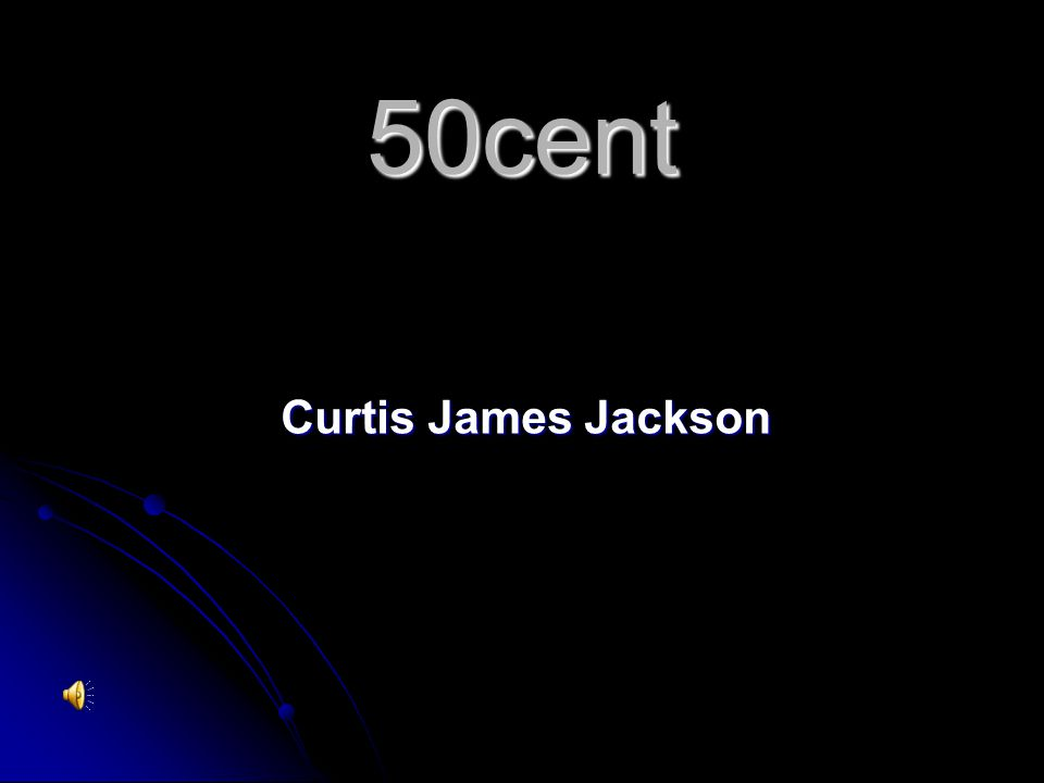 50cent Curtis James Jackson