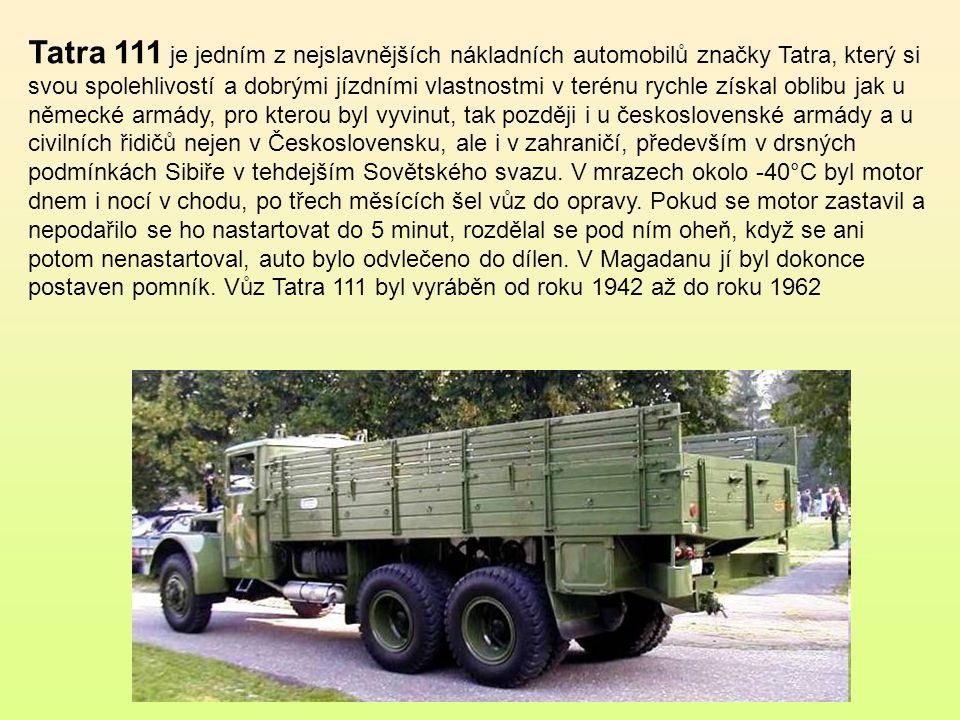 Bojový tudor konstrukčně vycházel z osobního vozu Škoda 1101.